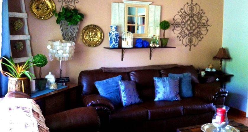 20 Pictures Light Blue And Brown Living Room Little Big Adventure