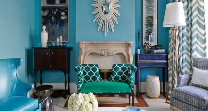 Turquoise Home Decor Ideas Enchanting Gray