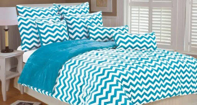Turquoise White Bedding Set Product Selections Homesfeed
