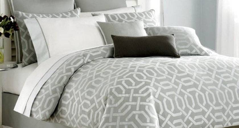 Twin Nautica Clearwater Silver Geometric Bedskirt