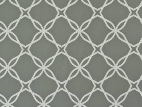 Twisted Grey Geometric Lace Contemporary