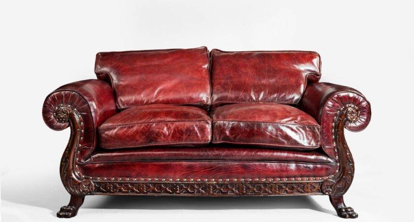 Two Seater Leather Sofa England Wick