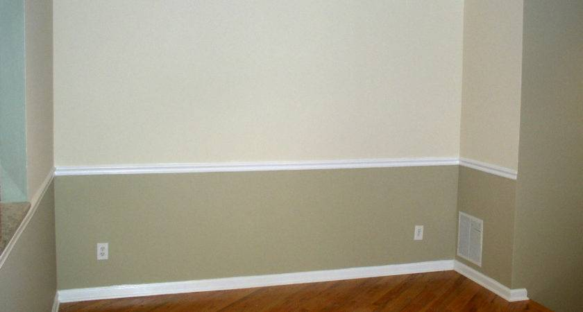 Two Tone Wall Paint Ideas