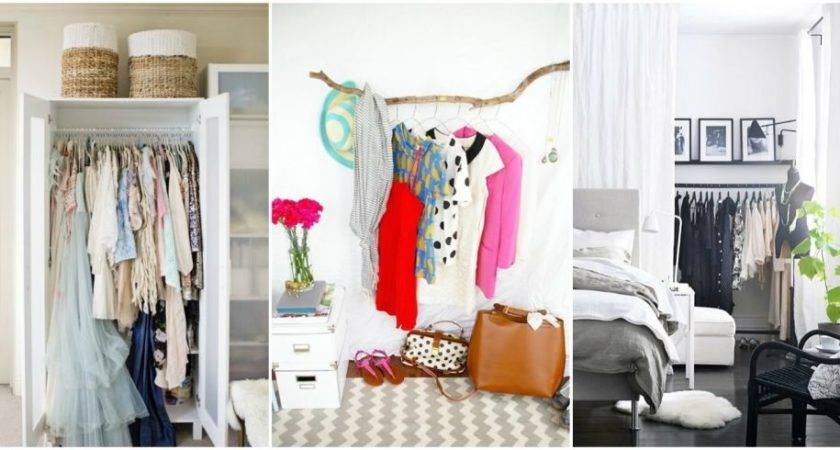 Unique Bedroom Clothes Storage Ideas