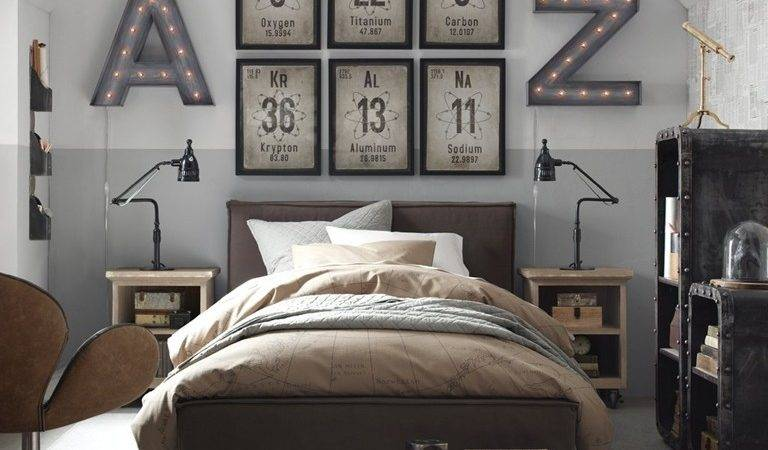 Unique Large Wall Decor Mens Bedroom Decoration Ideas