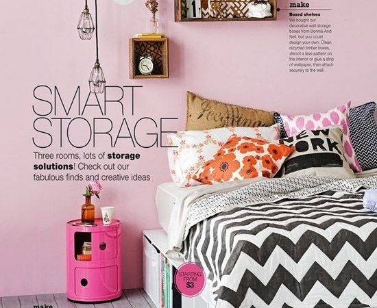 Unique Storage Ideas Smart Bedroom