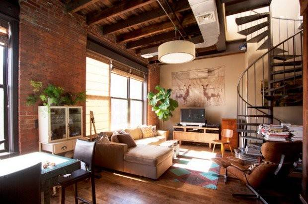 Urban Living Room Design Ideas Industrial Style