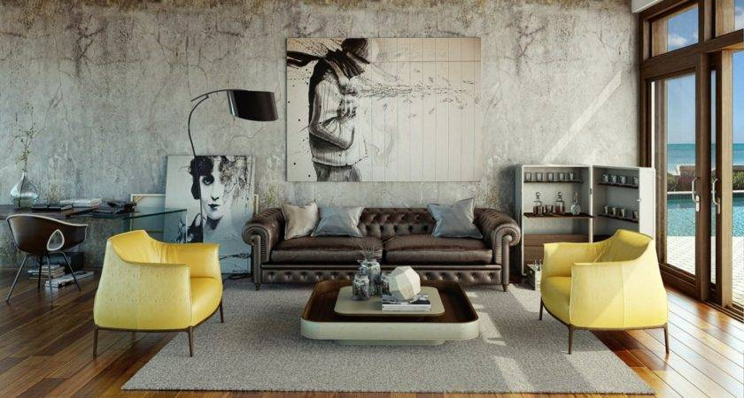 Urban Living Room Interior Design Ideas