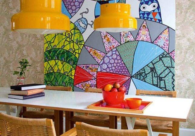 Vibrant Bright Dining Rooms Serious Color Inspo