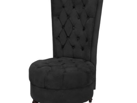 Vidaxl Sofa Chair High Back Black