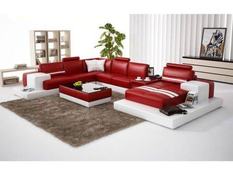 Vig Furniture Divani Casa Modern Red White