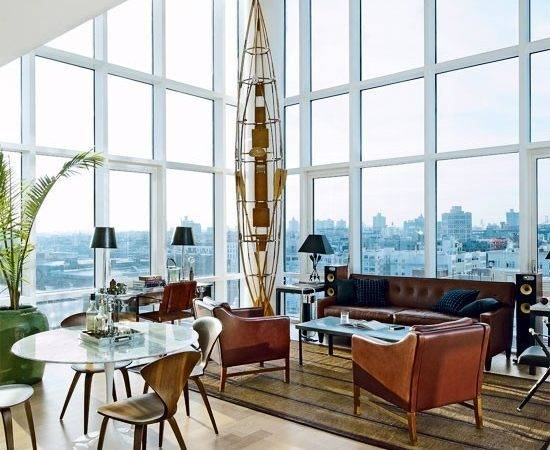 Vintage Chic Penthouse Williamsburg Interior
