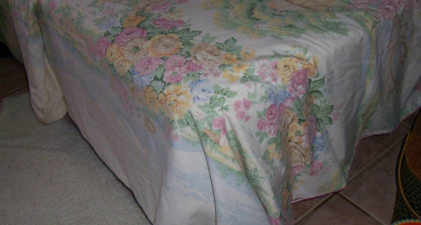 Vintage French Country Cottage Duvet Cover Twin
