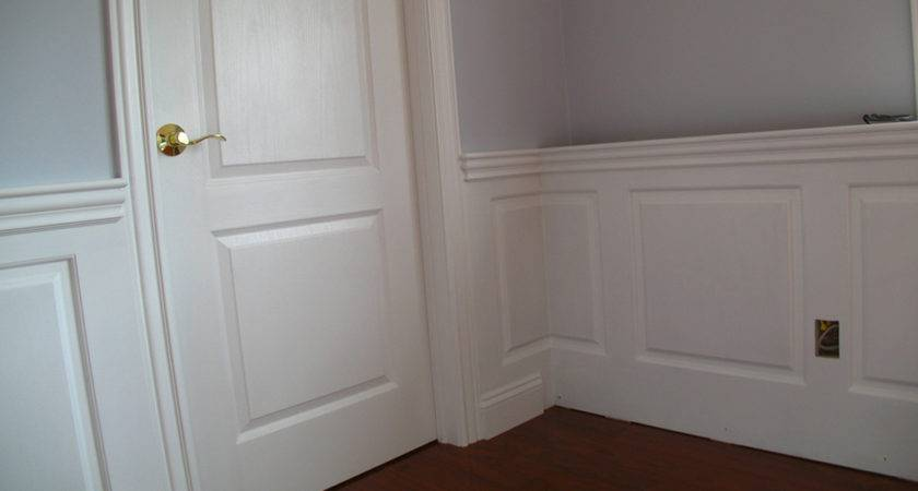 Wainscoting Panel Classic Raised Room West