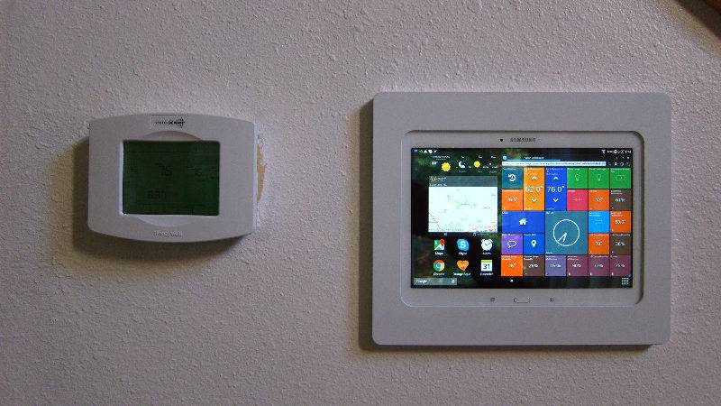 Wall Android Tablet Mount Home Residential