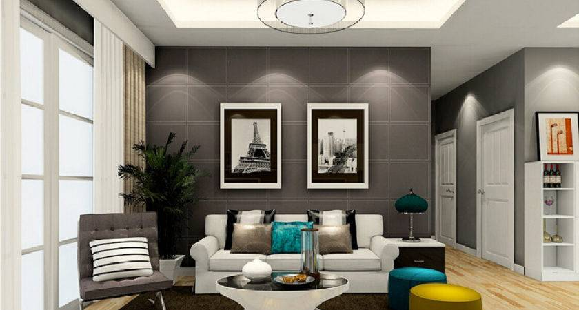 Wall Art Grey Living Room Modern House