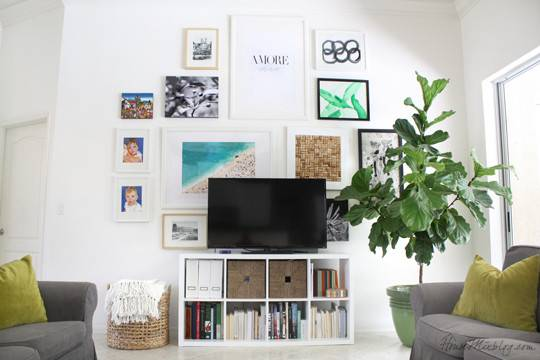 Wall Behind Living Room House Mix