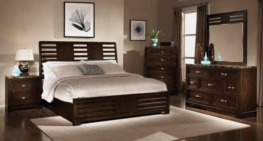 Wall Colors Bedrooms Dark Furniture Photos
