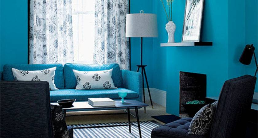 Wall Colors Living Room Blue Home Combo