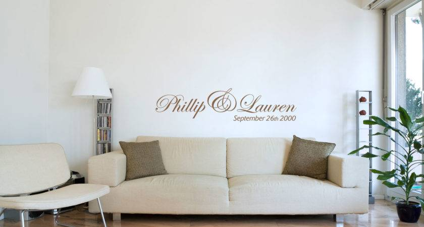 Wall Decals Living Room Paint Diy