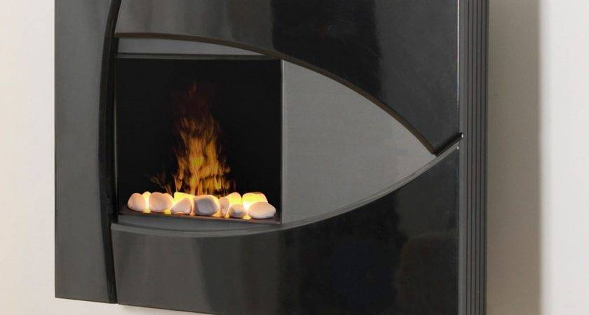 Wall Mount Electric Fireplace Tradional Bedroom