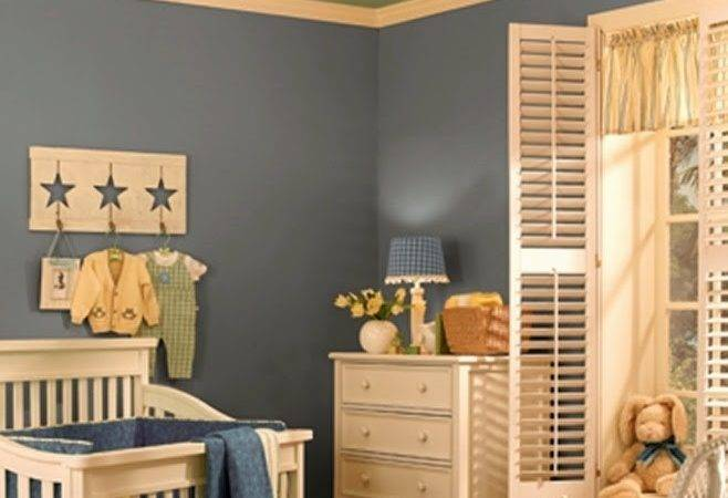 Wall Paint Ideas Baby Nursery Room
