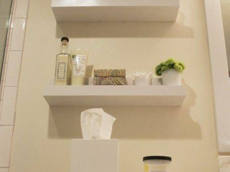 Wall Shelves Small Bathroom