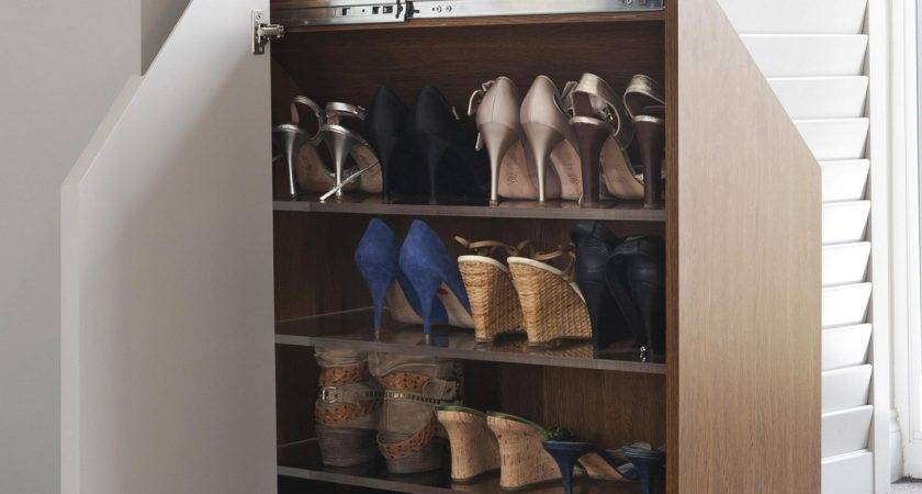 Wall Shoe Rack Clever Ways Store Your Shoes