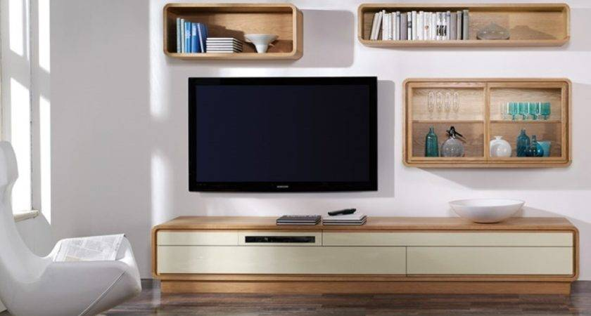 Wall Units Small Living Room Modern House