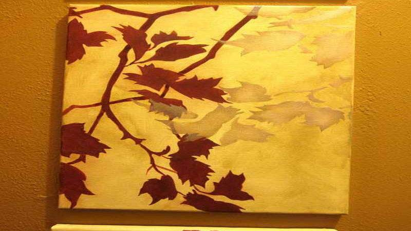 Walls Gold Wall Color Painting Ideas Stencil