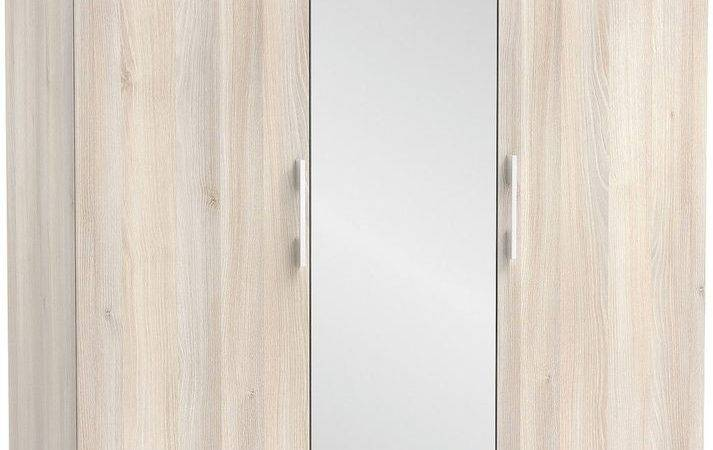 Wardrobes Bedroom Furniture Cheap Modern Mirrored Drawers