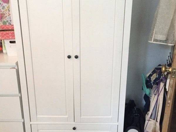 Wardrobes Small Spaces Ikea Katherine