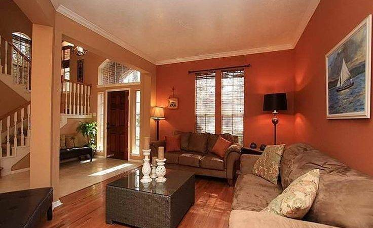 Warm Colors Living Room Interior Design Ideas Calm
