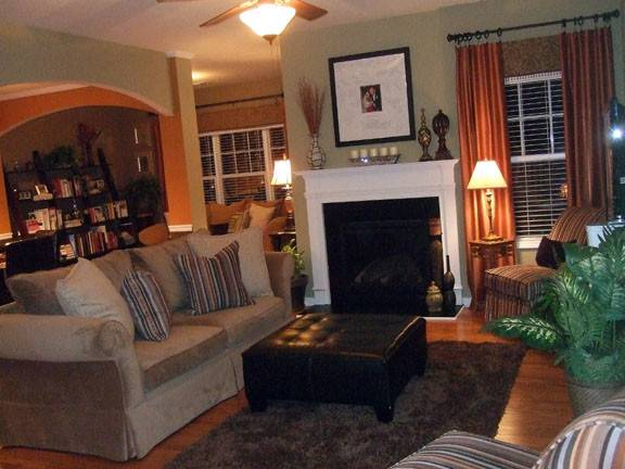 Warm Cozy Living Room Colors Peenmedia