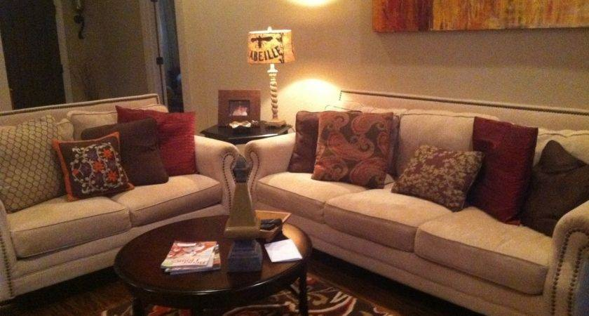 Warm Living Room Design Decorating Clear
