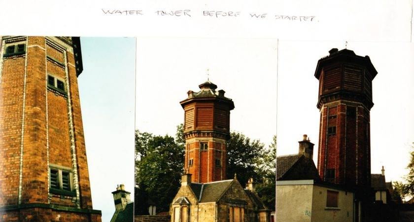 Water Tower Wood Cottage Pre Conversion