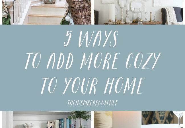 Ways Add More Cozy Your Home Inspired Room