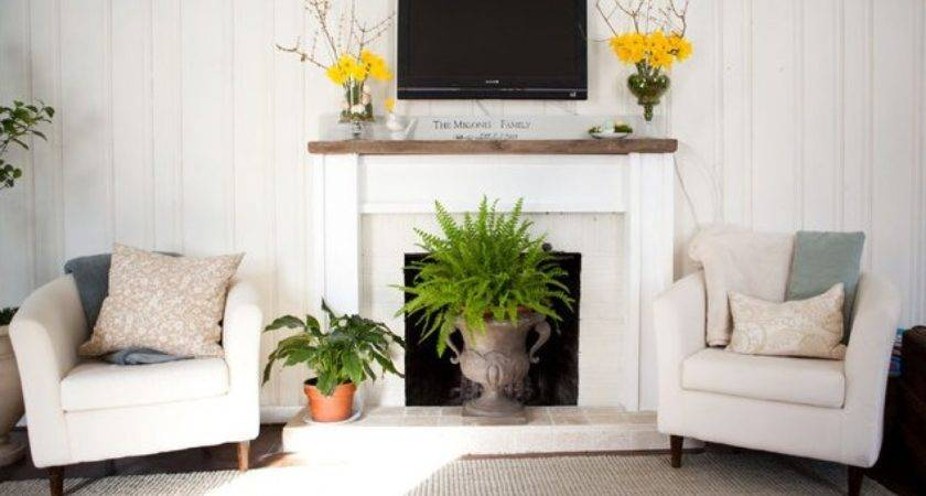 Ways Decorate Your Fireplace Summer Since