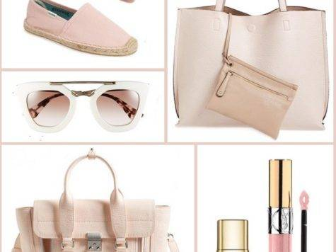 Wednesday Wishes Blush Pink Accessories