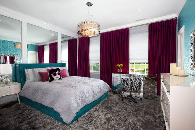 West Harrison Sophisticated Girls Bedroom Contemporary