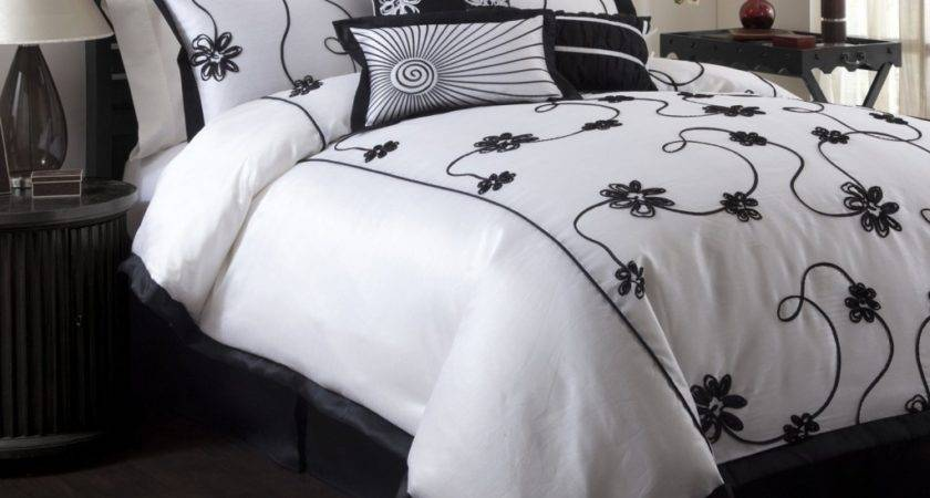 White Black Bedding Sets Luxurious