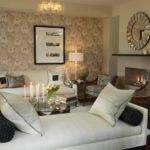 White Settee Transitional Living Room Ici Dulux