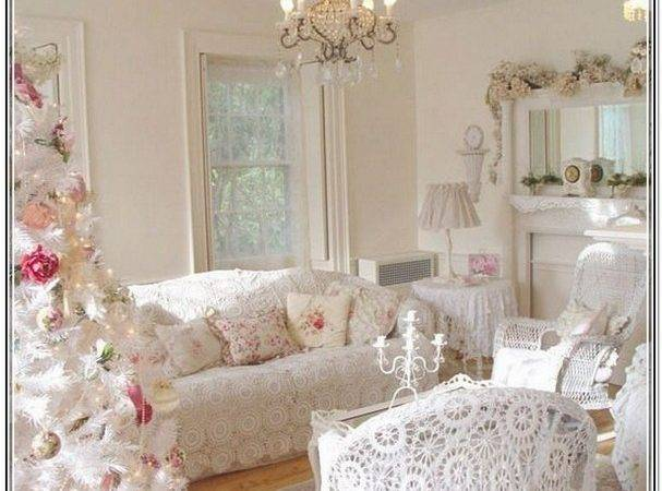 White Shabby Chic Living Room Furniture Home Design Ideas