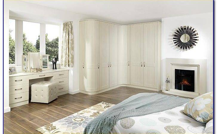White Shaker Fitted Bedroom Furniture Home