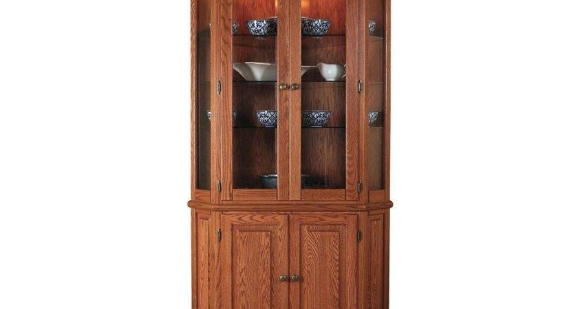 Willow Valley Dining Room Corner China Cabinet