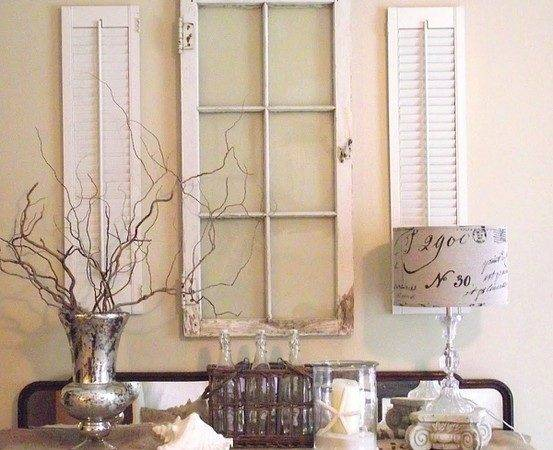 Window Shutters Wall Decor