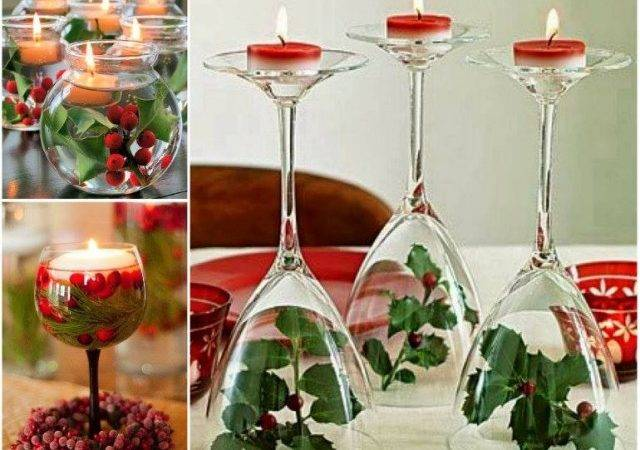 Wine Glass Centerpiece Instructions