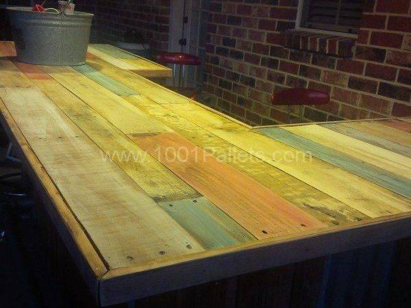 Wood Bar Tops Rustic Home Ideas Collection