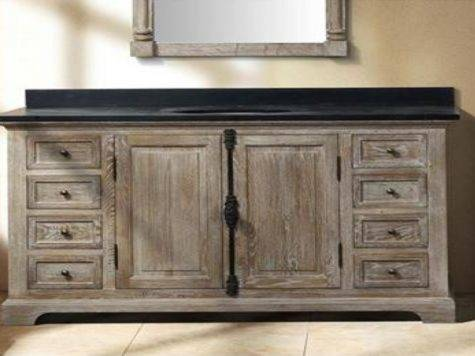 Wood Bathroom Vanities Reclaimed Vanity
