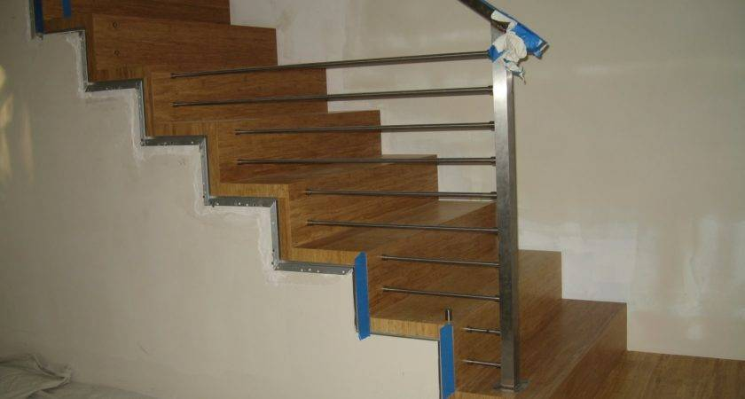 Wood Contemporary Stair Railing Ideas All